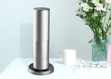Hotel Room Electric Aluminum Scent Air Machine In Ice Silver With Touch Screen Inteligent Control